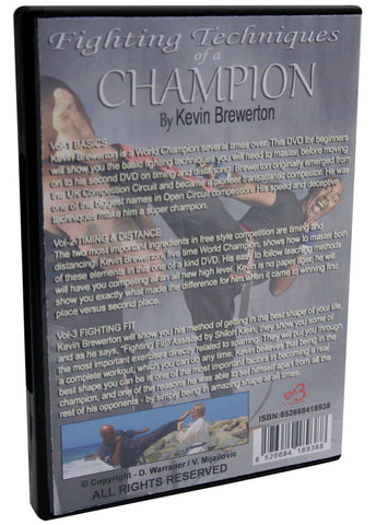 Back - Fighting Techniques of a Champion DVD 4