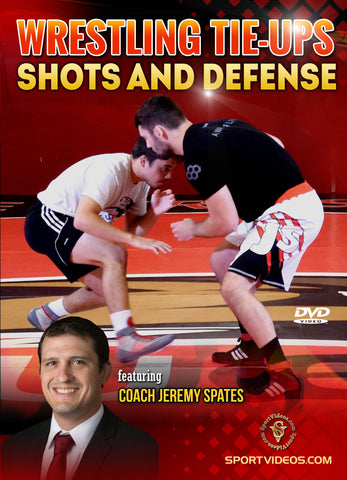 Wrestling Tie-ups, Shots and Defense DVD by Jeremy Spates - Budovideos