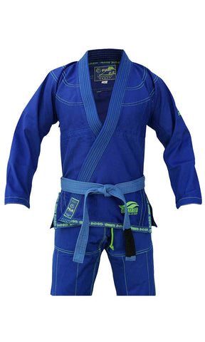 Suparaito Gi - Blue by Fuji Sports