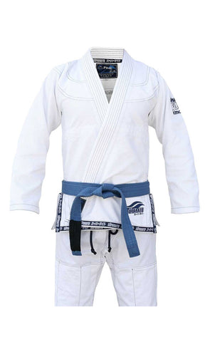 Suparaito Gi - White by Fuji Sports