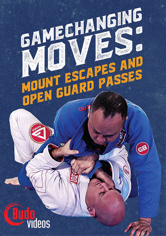 Game Changing Moves: Mount Escapes & Open Guard Passes DVD by Brent Littell