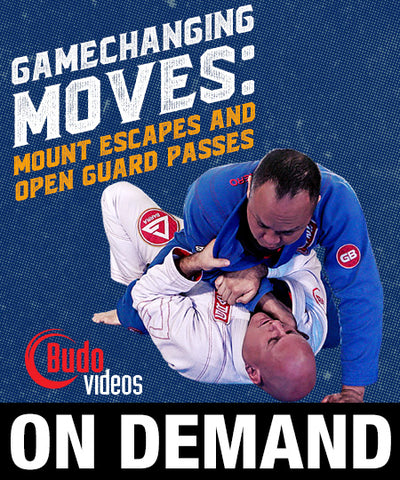 Gamechanging Moves: Mount Escapes & Open Guard Passes by Brent Littell (On Demand)