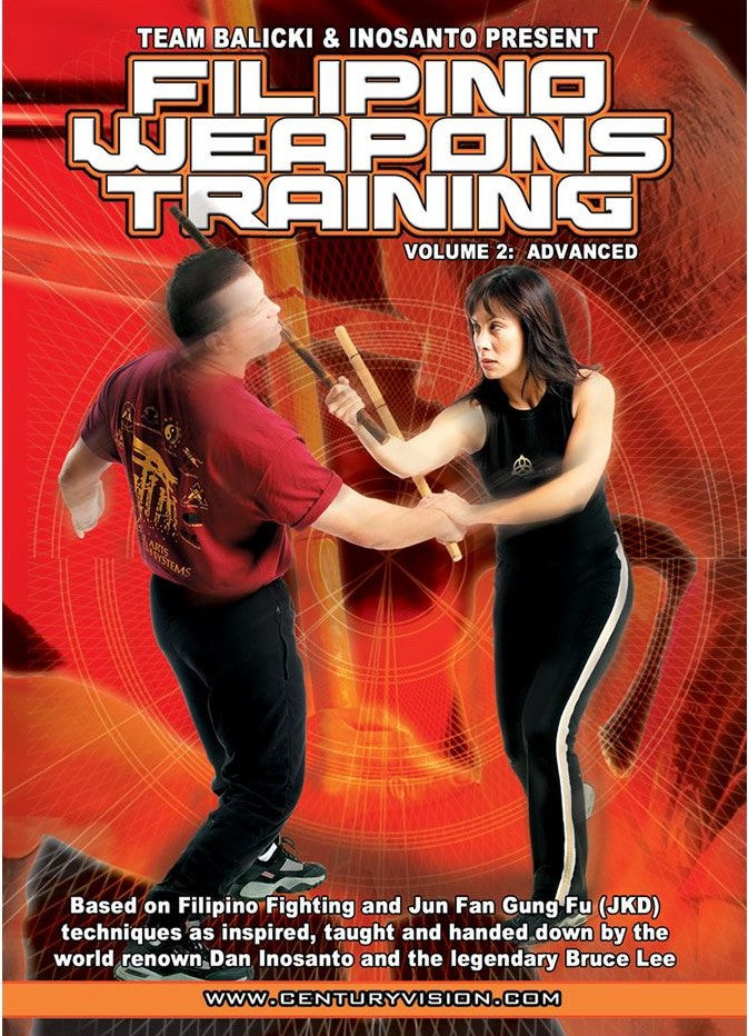 Filipino Weapons DVD 2 by Rob Balicki & Diana Inosanto