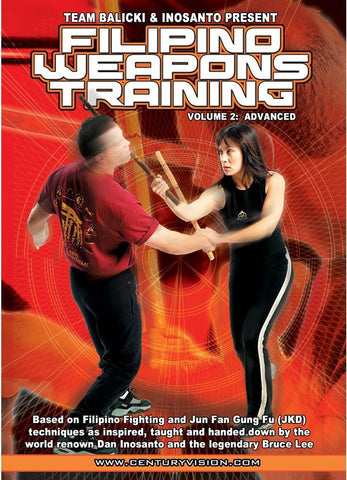 Filipino Weapons DVD 2 by Ron Balicki & Diana Inosanto - Budovideos Inc