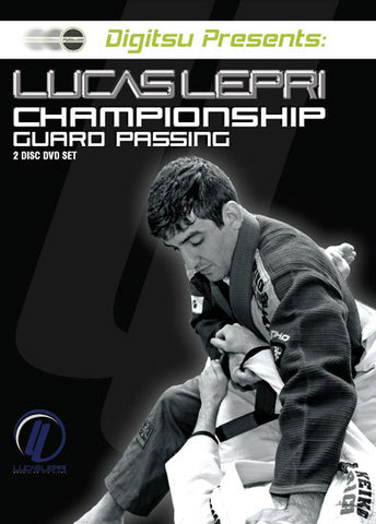 Championship Guard Passing 2 DVD Set by Lucas Lepri - Budovideos