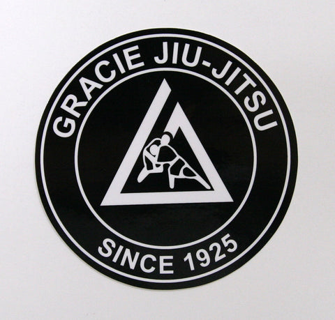 Gracie Academy Official Sticker - Black