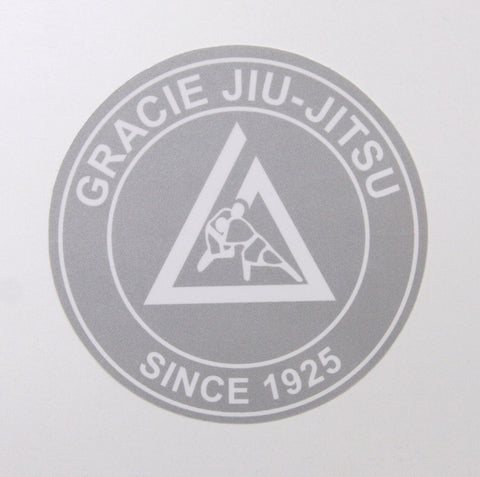 Gracie Academy Official Sticker - Silver
