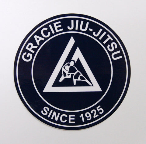 Gracie Academy Official Sticker - Blue
