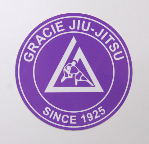 Gracie Academy Official Sticker - Purple