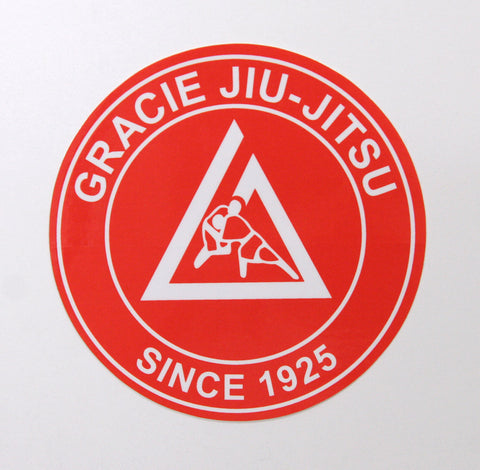 Gracie Academy Official Sticker - Red