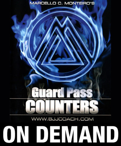 Guard Pass Counters with Marcello Monteiro (On Demand)