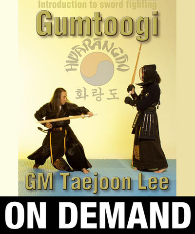 Hwa Rang Do Gumtoogi Sword Fighting with Taejoon Lee (On Demand)