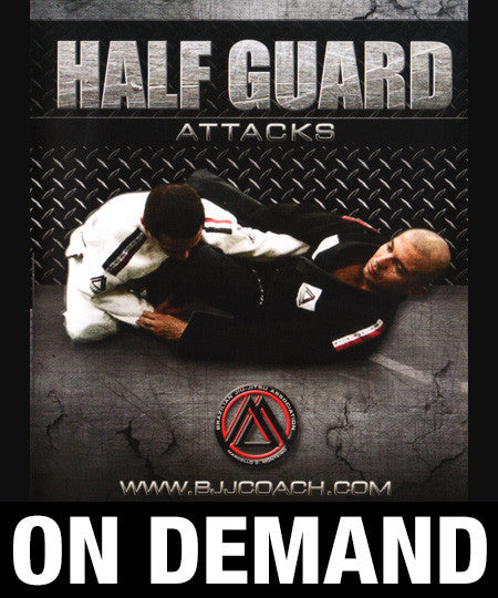Half Guard Attacks with Marcello Monteiro (On Demand)