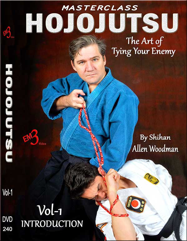 HOJOJUTSU The Art of Tying Your Enemy DVD 1 by Allen Woodman - Budovideos