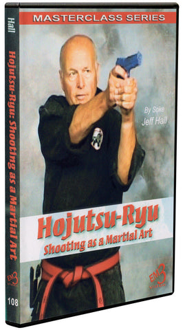 Hojutsu-Ryu Shooting as a Martial Art DVD by Jeff Hall - Budovideos Inc