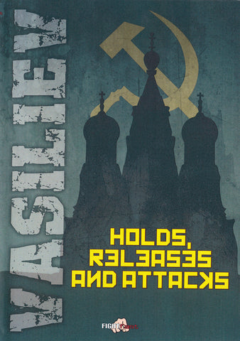 Systema: Holds, Releases, & Attacks DVD with Vladimir Vasiliev - Budovideos