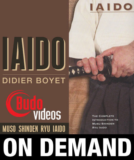 Complete Introduction to Muso Shinden Ryu Iaido with Didier Boyet (On-Demand)