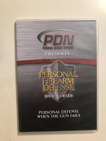 Personal Firearm Defense: Personal Defense When the Gun Fails DVD by Rob Pincus (Preowned) - Budovideos