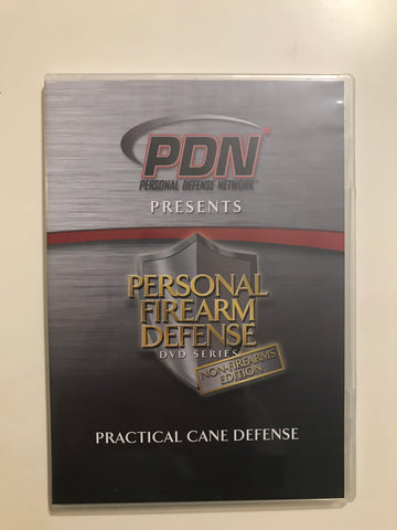 Personal Firearm Defense: Practical Cane Defense DVD by Rob Pincus (Preowned) - Budovideos