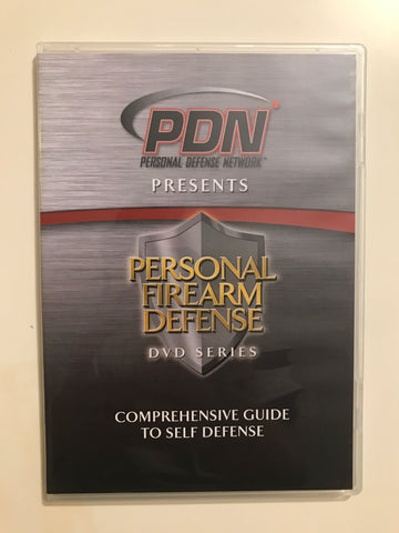 Personal Firearm Defense: Comprehensive Guide to Self Defense DVD by Rob Pincus (Preowned) - Budovideos