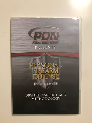 Personal Firearm Defense: Dryfire Practice & Methodology DVD by Rob Pincus (Preowned) - Budovideos