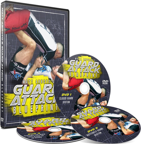 Guard Attack Blueprint 3 DVD Set with Matt Arroyo - Budovideos