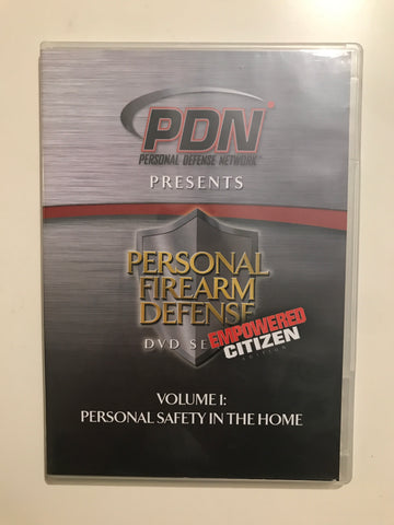 Personal Firearm Defense: Personal Safety in the Home DVD by Rob Pincus (Preowned) - Budovideos