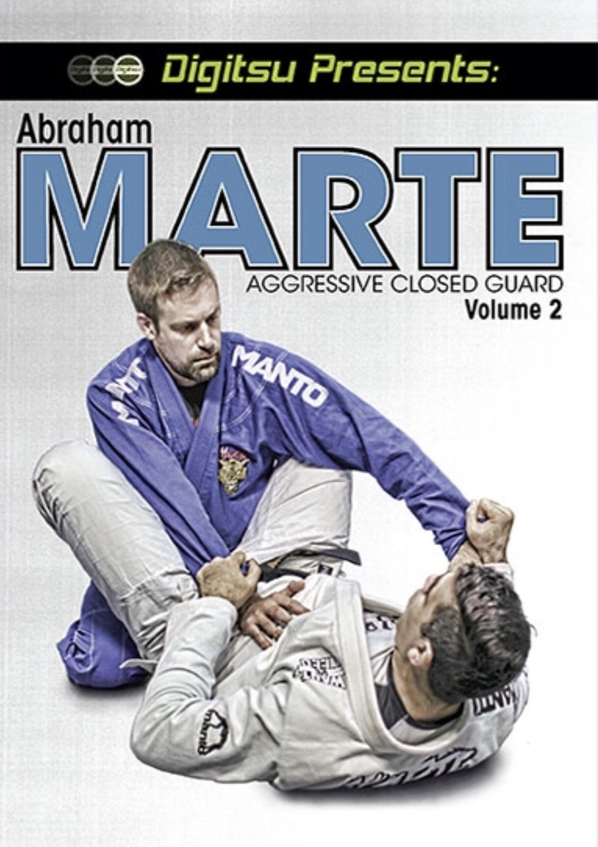 Aggressive Closed Guard Vol 2 DVD with Abraham Marte
