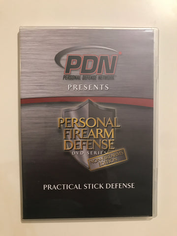 Personal Firearm Defense: Practical Stick Defense DVD by Rob Pincus & Mike Janich (Preowned)