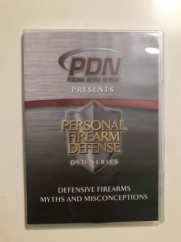 Personal Firearm Defense: Defensive Firearms Myths & Misconceptions DVD by Rob Pincus (Preowned) - Budovideos