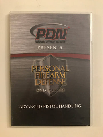 Personal Firearm Defense: Advanced Pistol Handling DVD by Rob Pincus (Preowned) - Budovideos
