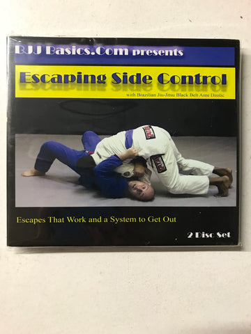 Escaping Side Control 2 DVD Set with Ante Dzolic