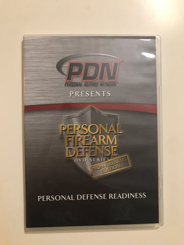 Personal Firearm Defense: Personal Defense Readiness DVD by Rob Pincus (Preowned) - Budovideos