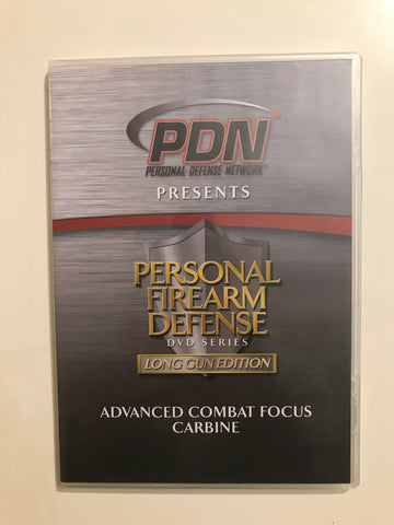 Personal Firearm Defense: Advanced Combat Focus Carbine DVD by Rob Pincus (Preowned) - Budovideos