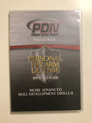 Personal Firearm Defense: More Advanced Skill Development Drills II DVD by Rob Pincus (Preowned) - Budovideos