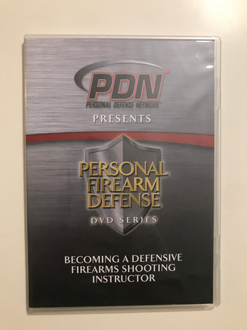 Personal Firearm Defense: Becoming a Defensive Firearms Shooting Instructor DVD by Rob Pincus (Preowned) - Budovideos