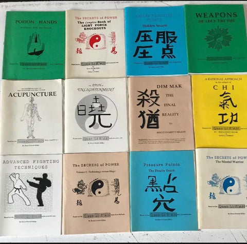 Quan Li Kan Complete 12 Book Lot By Bruce Everett Miller