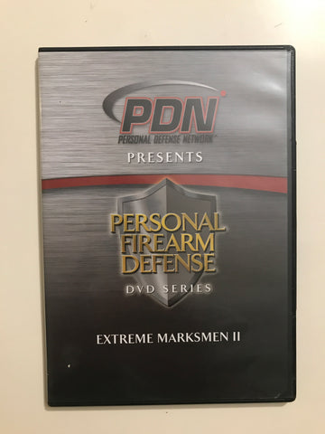 Personal Firearm Defense: Extreme Marksmen II DVD by Rob Pincus (Preowned) - Budovideos