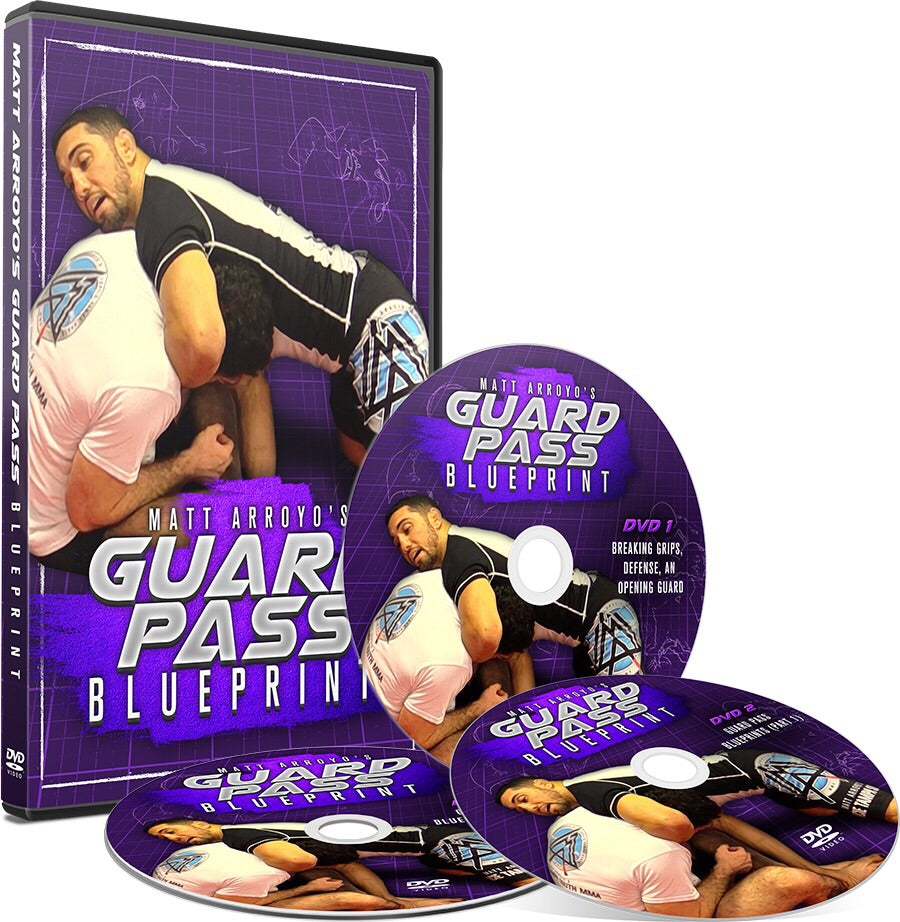 Guard Pass Blueprint 3 DVD Set with Matt Arroyo - Budovideos