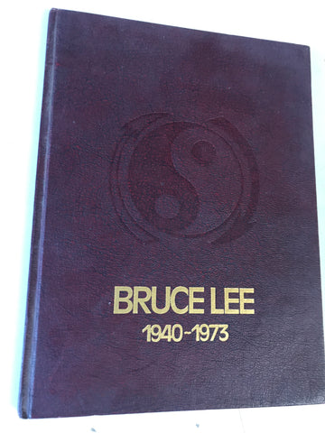 Bruce Lee 1940-1973 Hardcover Book (Preowned) - Budovideos