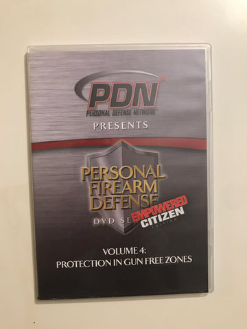 Personal Firearm Defense: Protection in Gun Free Zones DVD by Rob Pincus (Preowned) - Budovideos