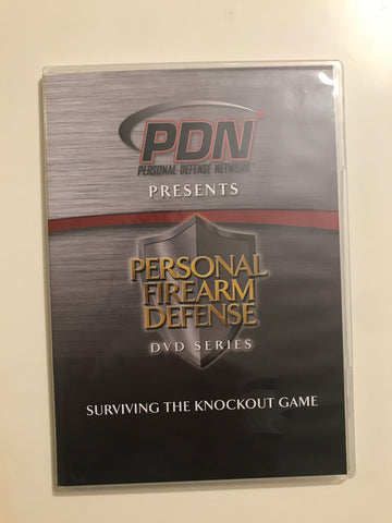 Personal Firearm Defense: Surviving the Knockout Game DVD by Rob Pincus (Preowned) - Budovideos