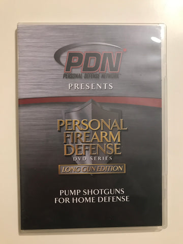 Personal Firearm Defense: Pump Shotguns for Home Defense DVD by Rob Pincus (Preowned) - Budovideos
