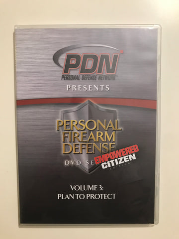 Personal Firearm Defense: Plan to Protect DVD by Rob Pincus (Preowned) - Budovideos