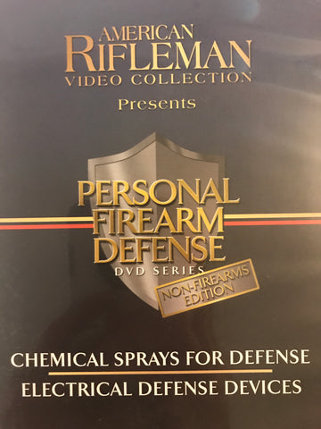 Personal Firearm Defense: Chemical Sprays for Defense & Electrical Defense Devices DVD by Rob Pincus (Preowned) - Budovideos Inc