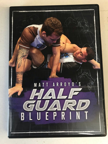 Half Guard Blueprint 3 DVD Set with Matt Arroyo