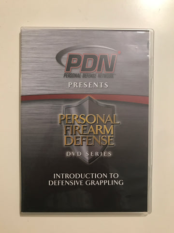 Personal Firearm Defense: Intro to Defensive Grappling DVD by Rob Pincus (Preowned)