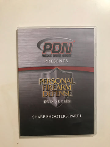Personal Firearm Defense: Sharp Shooters Part 1 DVD by Rob Pincus (Preowned)