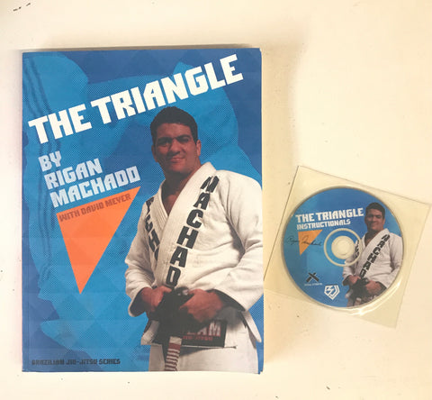 The Triangle Book & DVD by Rigan Machado (Preowned)
