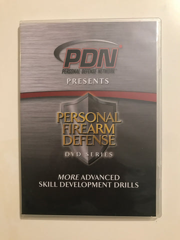 Personal Firearm Defense: More Advanced Skill Development Drills DVD by Rob Pincus (Preowned) - Budovideos